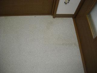 床フロアークリーニング施工前2